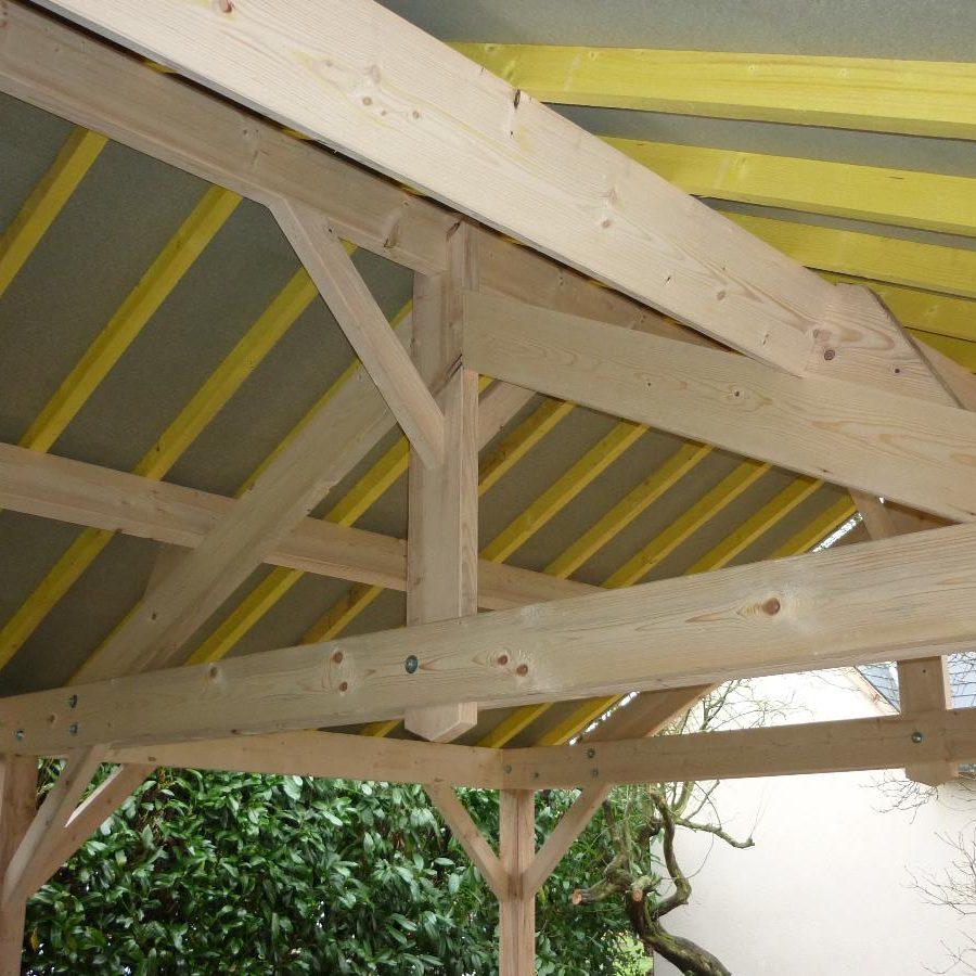 Charpentes bois traditionnelles et la rénovation de vieilles charpentes près de Nogent-le-Roi | SAS Salliot